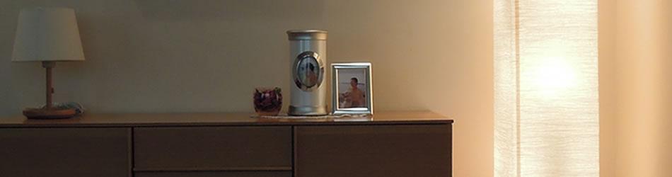 デザイン骨壺で故人と共に生きる手元供養